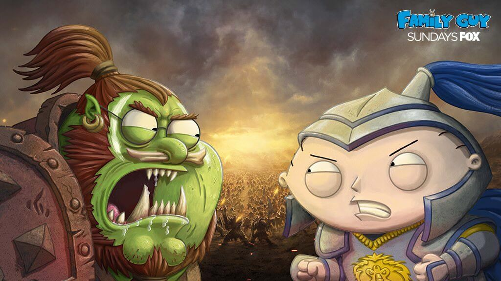 Family Guy Warcraft Folge