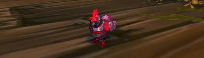 Rachsüchtiges Huhn