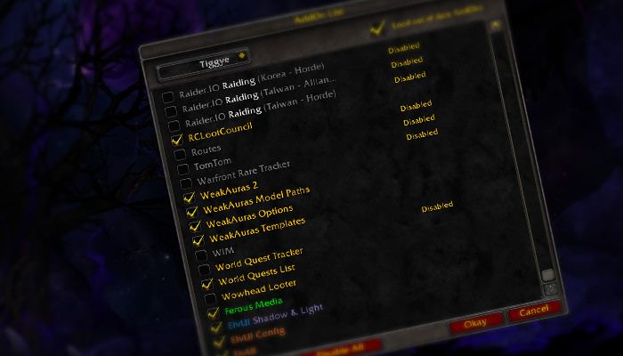 Addons Battle for Azeroth