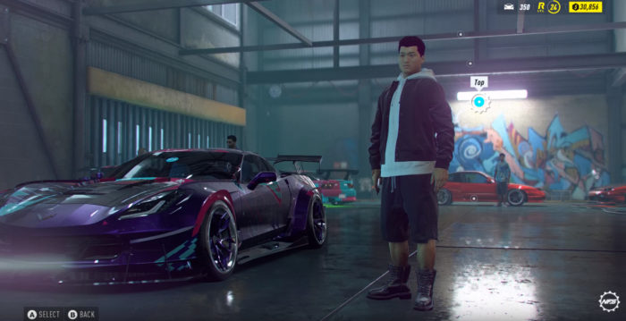 Need for Speed Heat Charakteranpassung